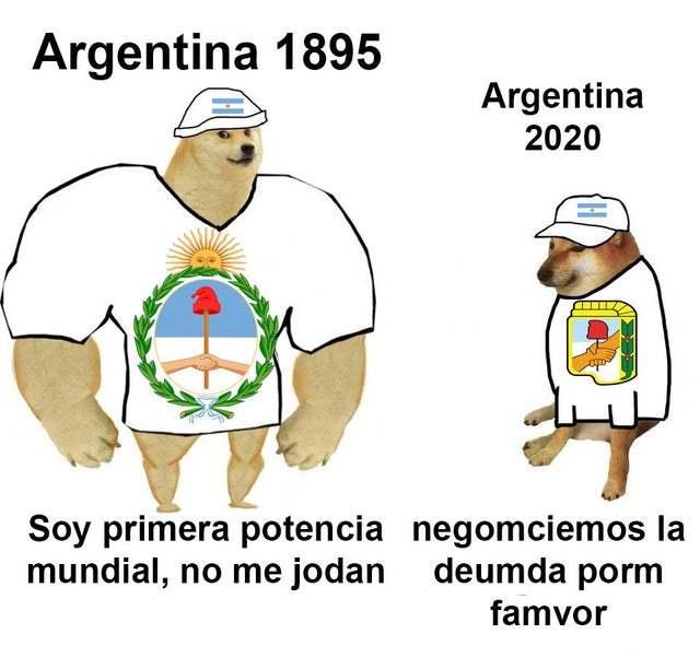 argentina be like: - meme
