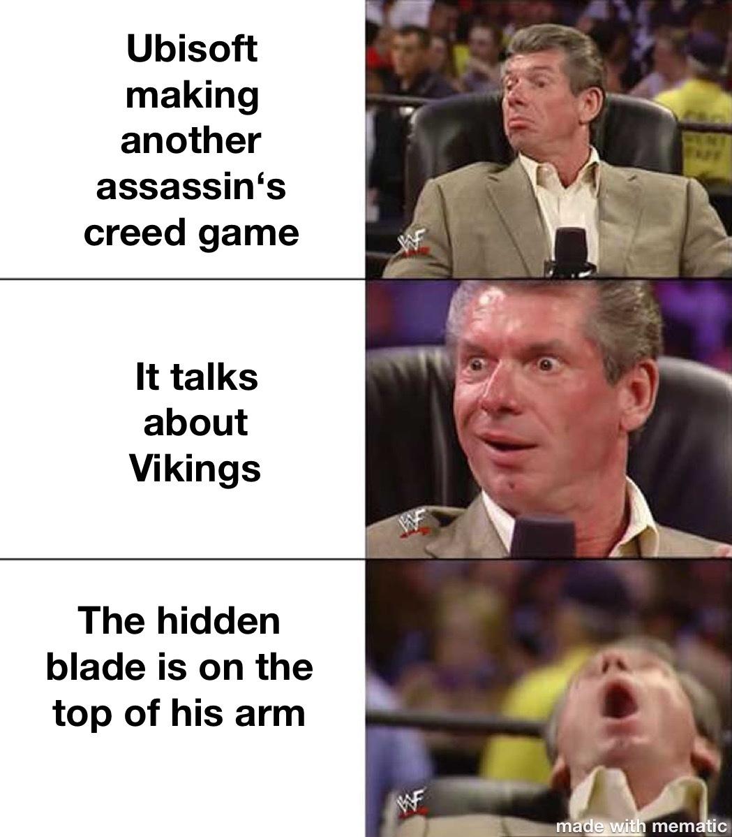 assassins creed - meme