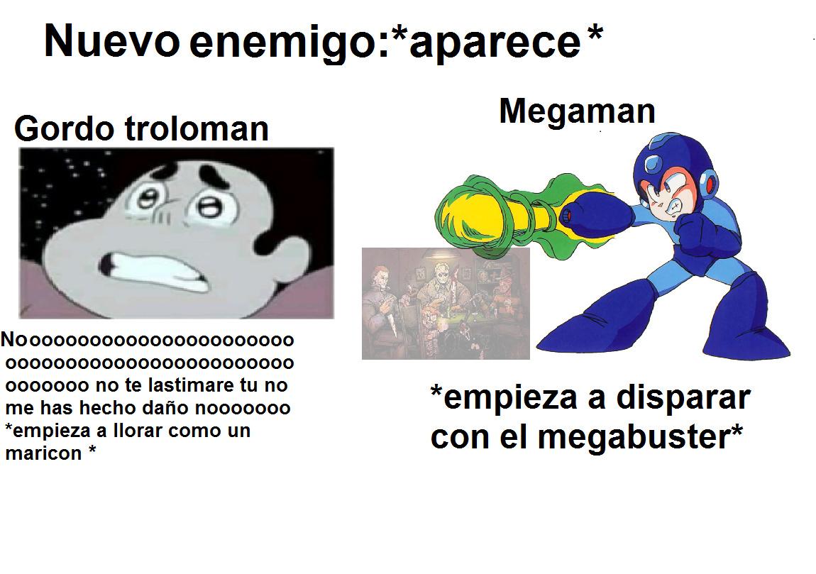Un kpo el megaman :son: - meme