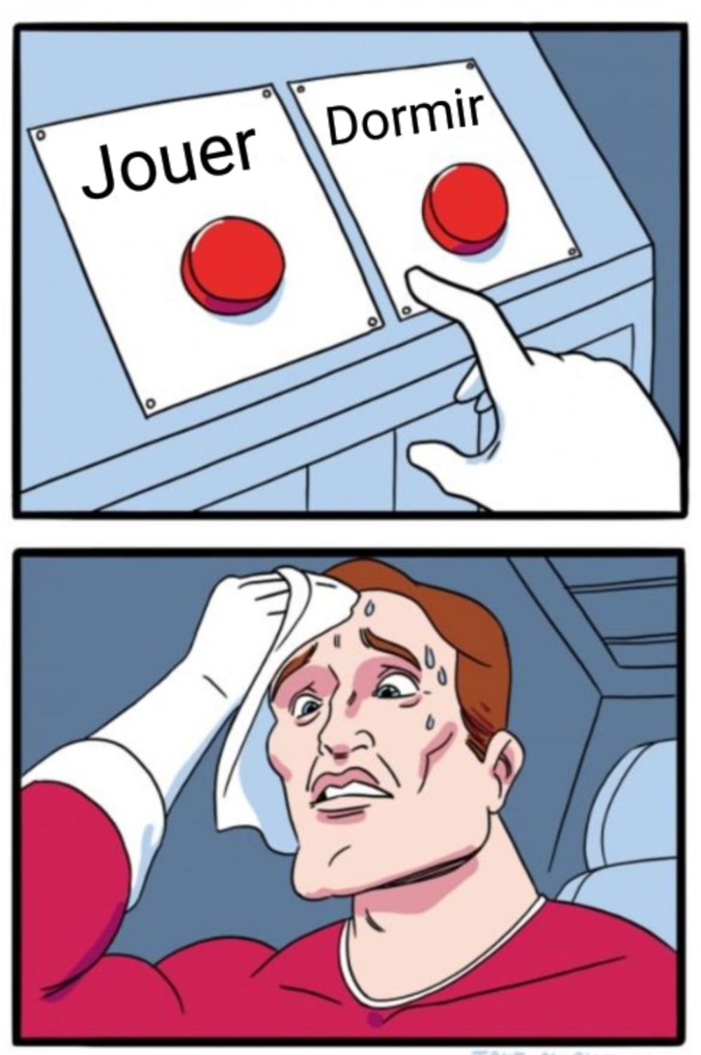 Un choix très difficile - meme