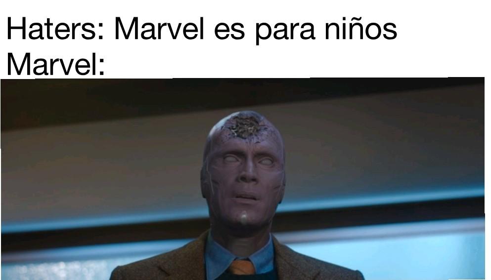 Marvel es para niños - meme