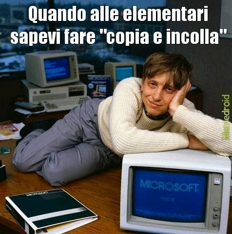 Baby bill Gates - meme