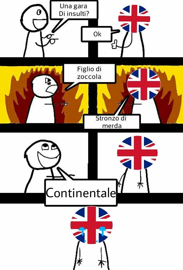 Primo meme sulla brexit che capiranno in tre XD