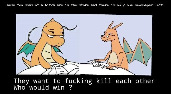 Who wins ? - meme