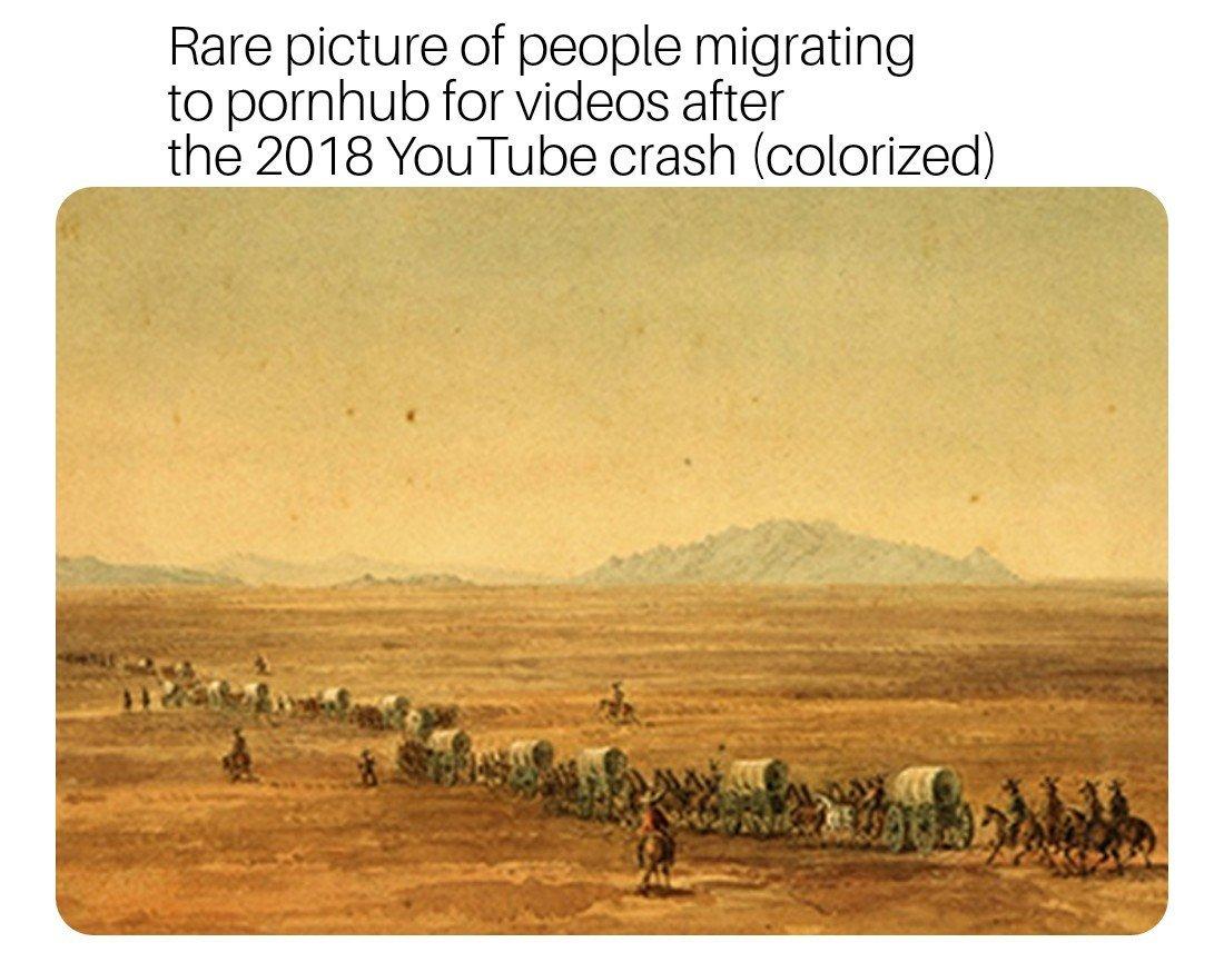 Youtube was down 4 a bit. - meme