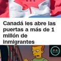 Lo malo es que no se ni que idioma hablan en Canadá