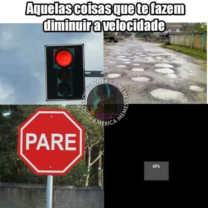 Pausa do caraio - meme