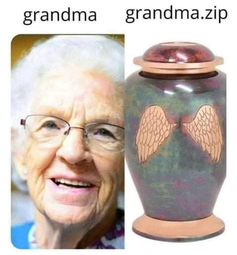 Oh no grandma fell in the shower - meme