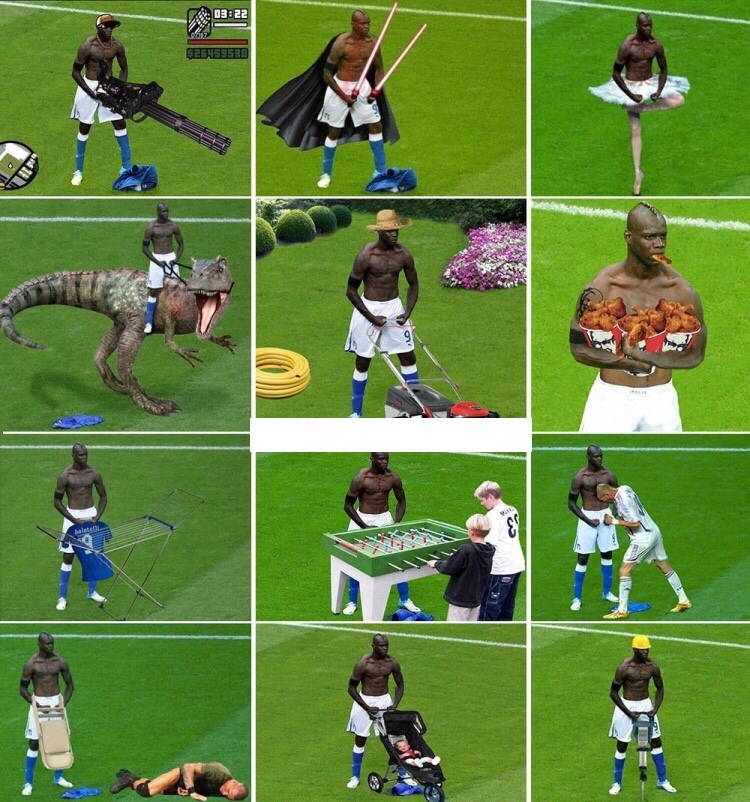 Balotelli was the best meme in a while