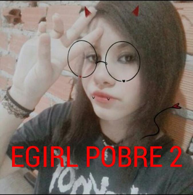 Egirl pobre 2 - meme