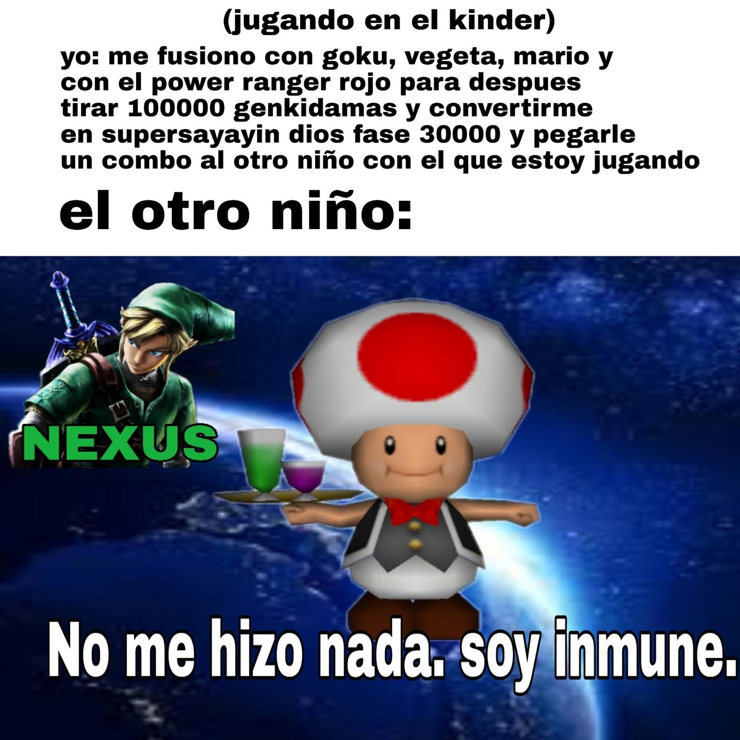 Soy inmune - meme