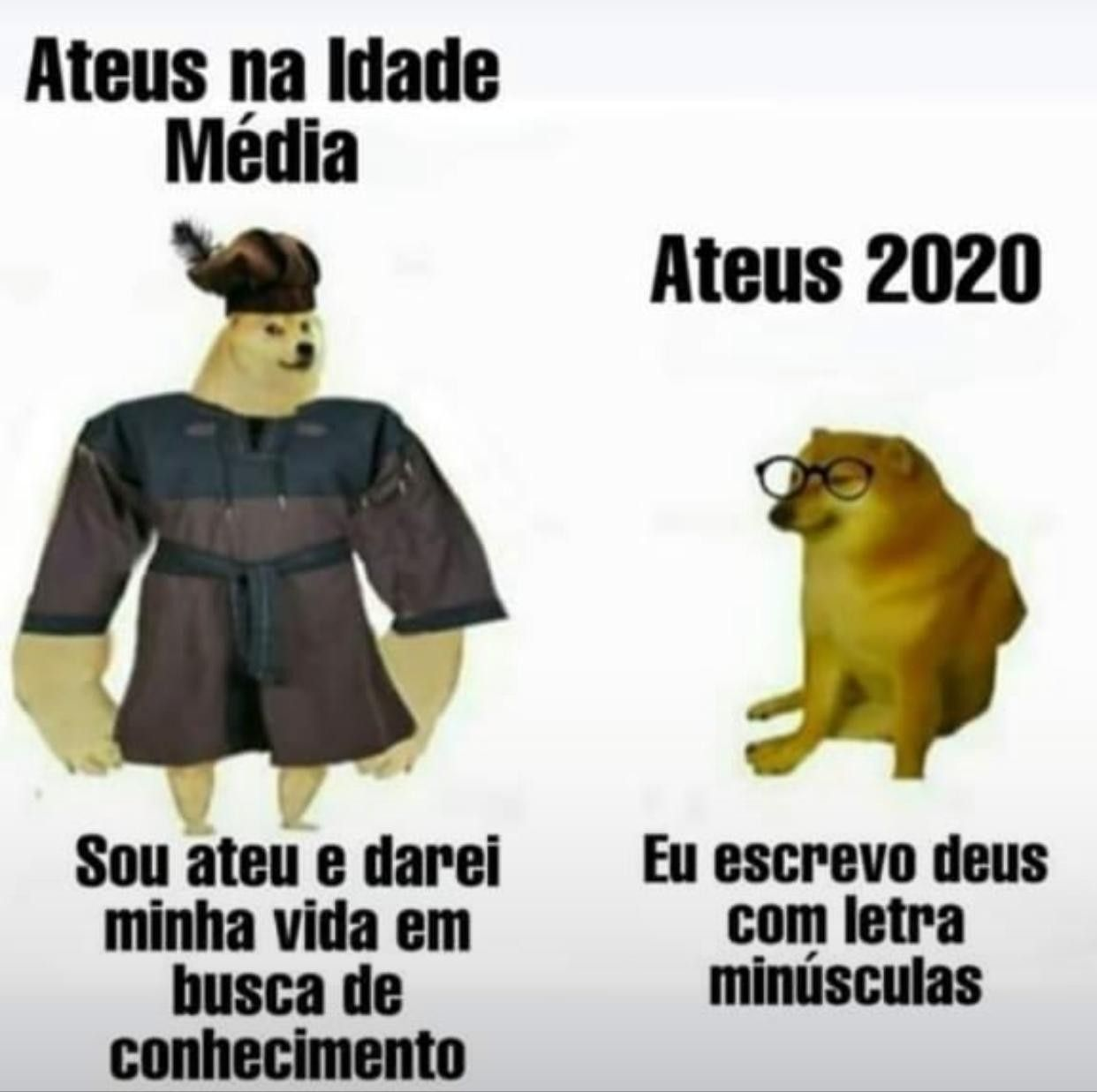 A diferença - meme