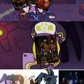 Por alguna razón shippean a nightmare Freddy con nightmare Bonnie :ohgodwhy: