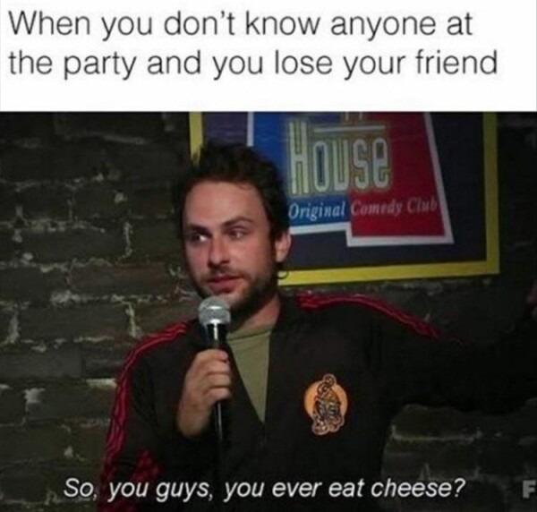 Socialising - meme
