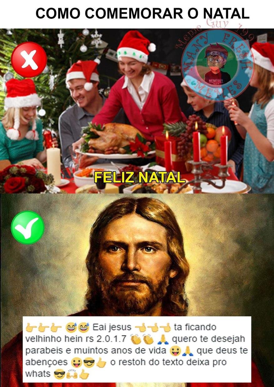 passou o natal mas ok - meme