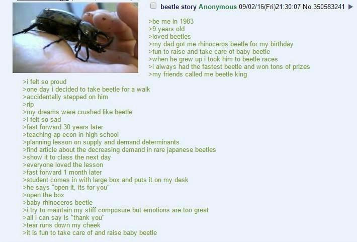 Baby beetle - meme