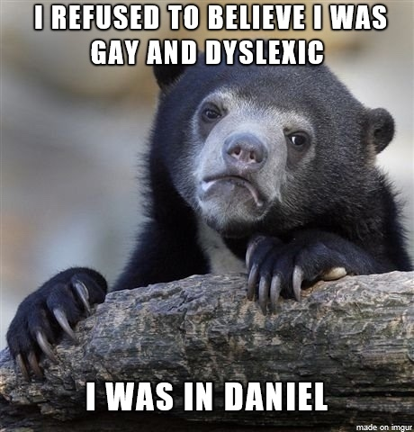 I happen to know someone named daniel - meme