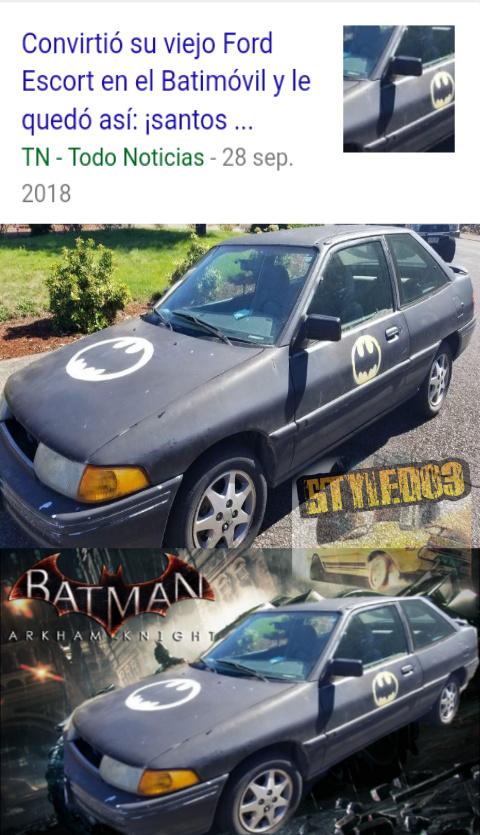 El nuevo Thanos Car :p - meme
