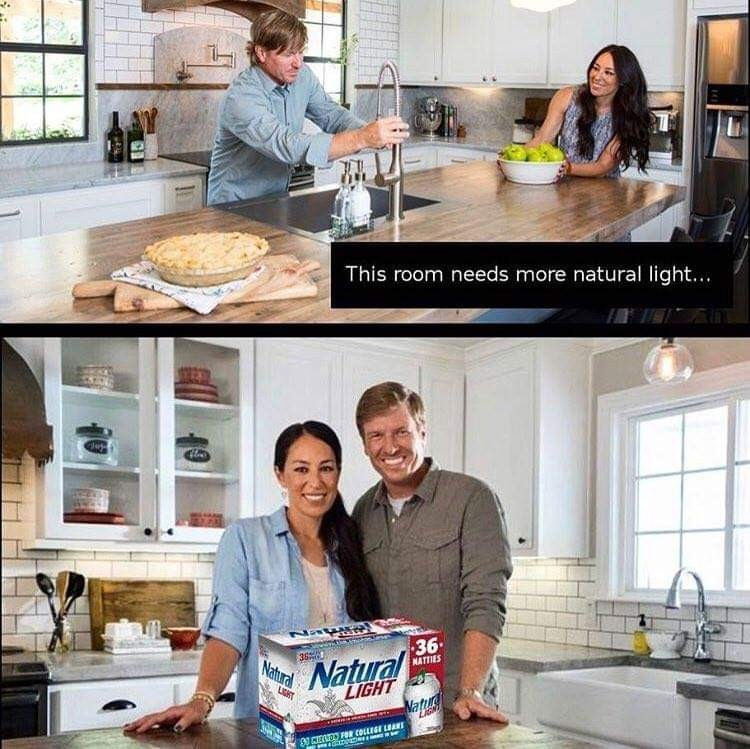 Natural Light..... - meme