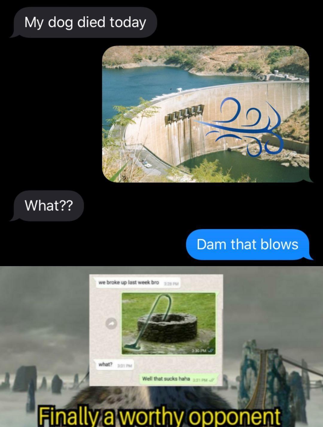 Well that sucks - meme