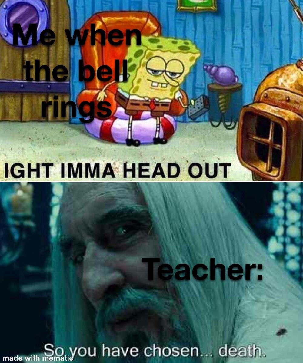 imma head out - meme