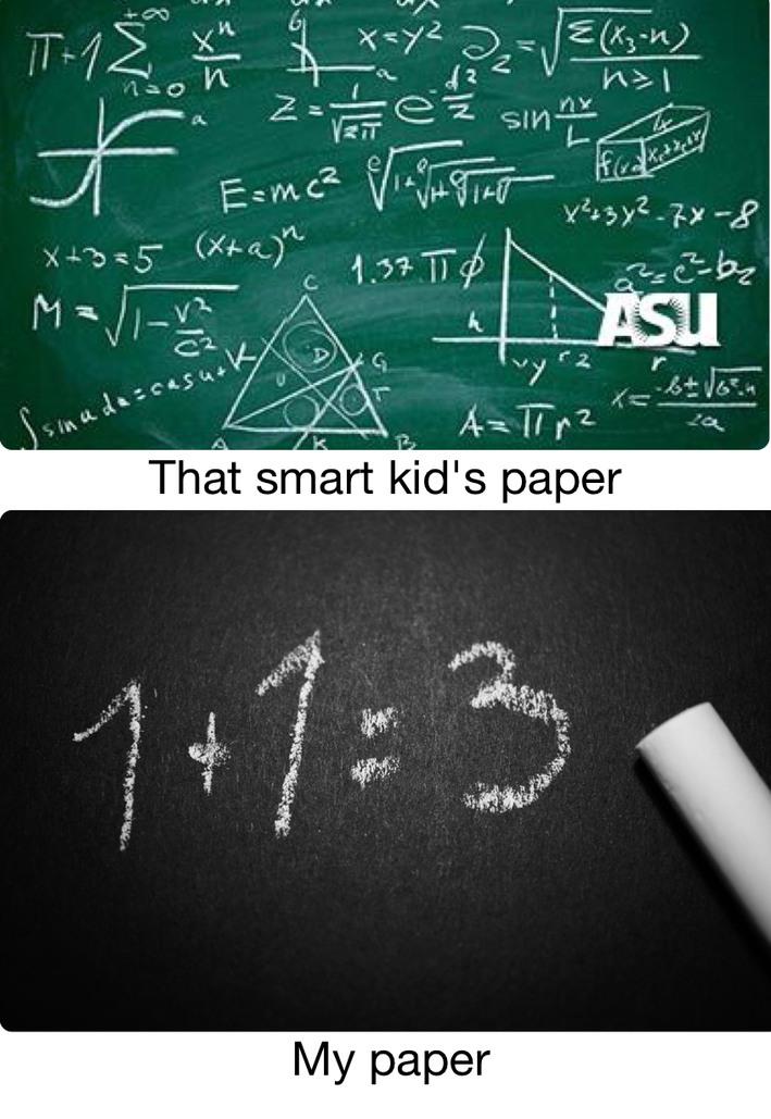 Dumb kids be like - meme