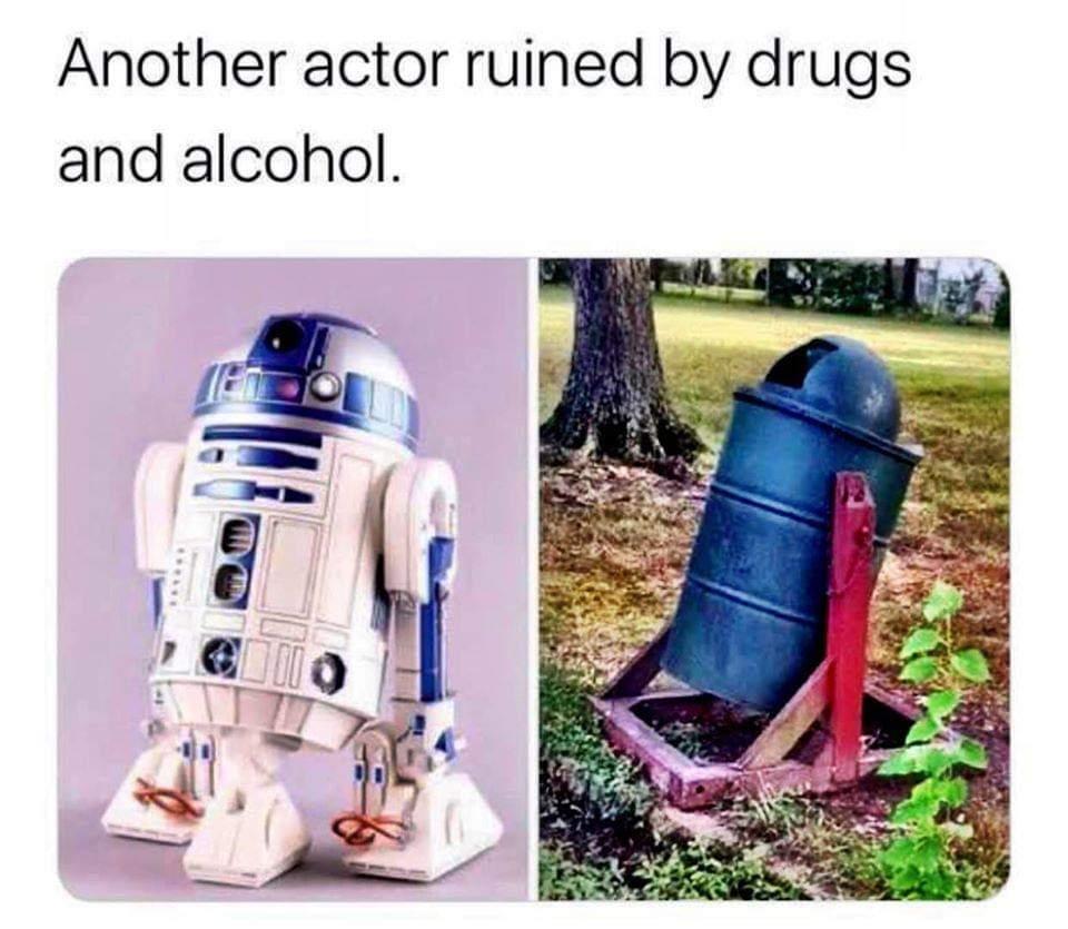 No! Not R2! - meme
