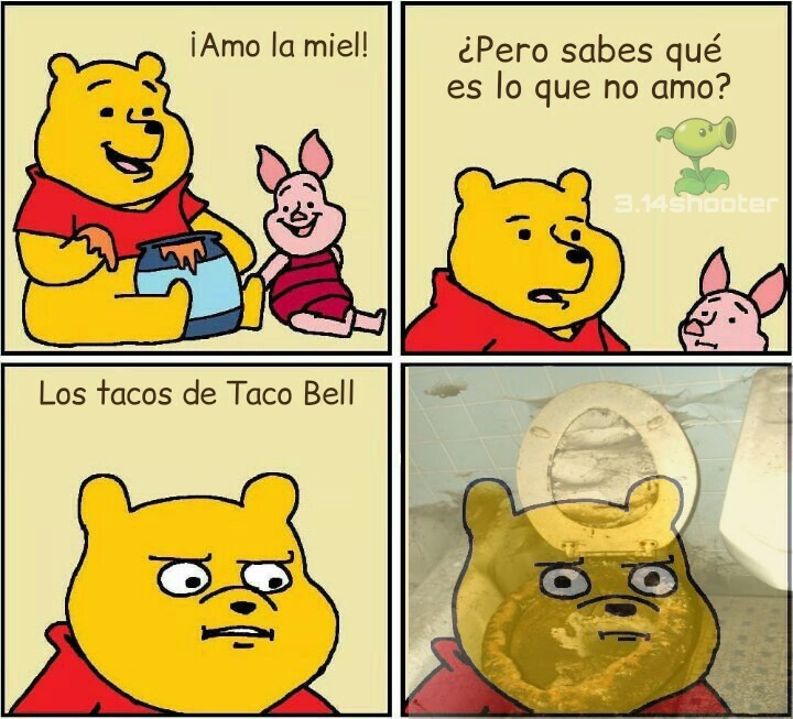 Tremenda diarrea te dan esos tacos - meme