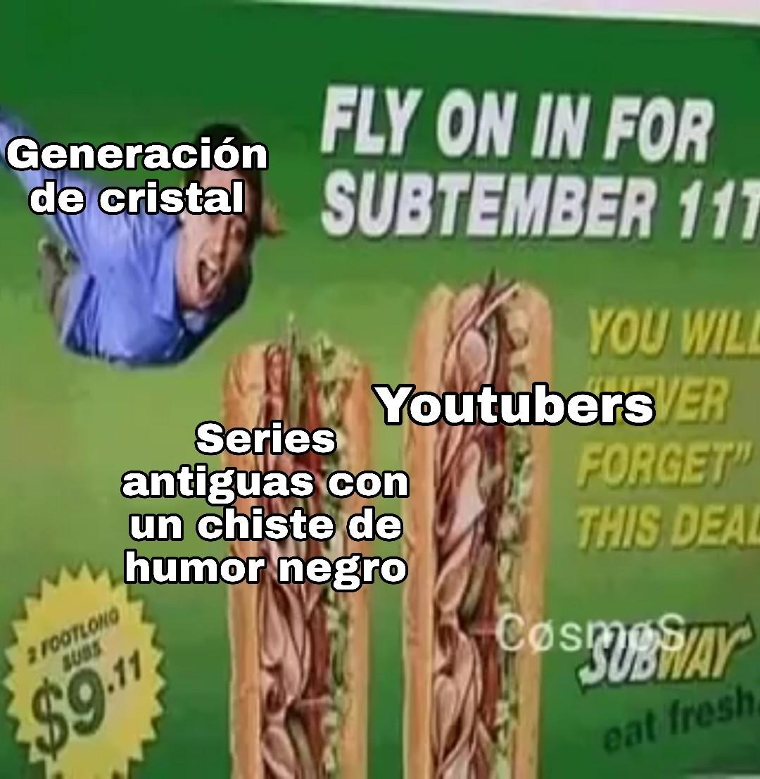 También se pueden reemplazar con pija - meme