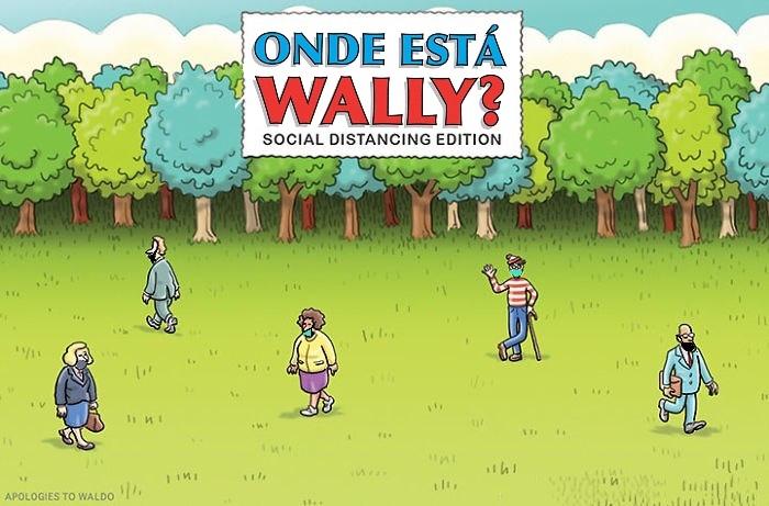 Wally? - meme