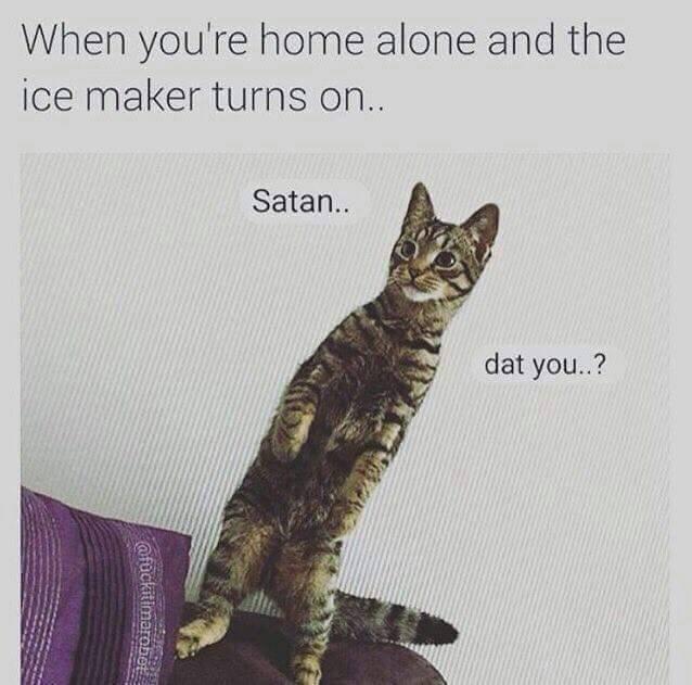 satan hails you - meme