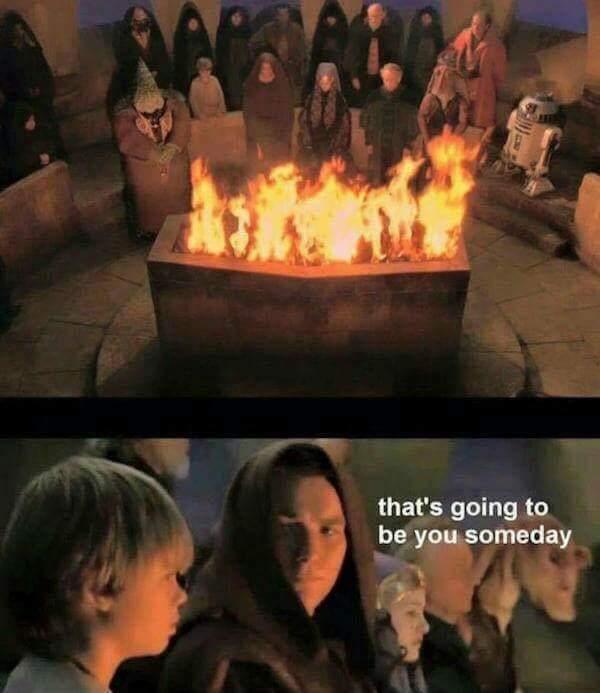Burn baby burn disco inferno - meme