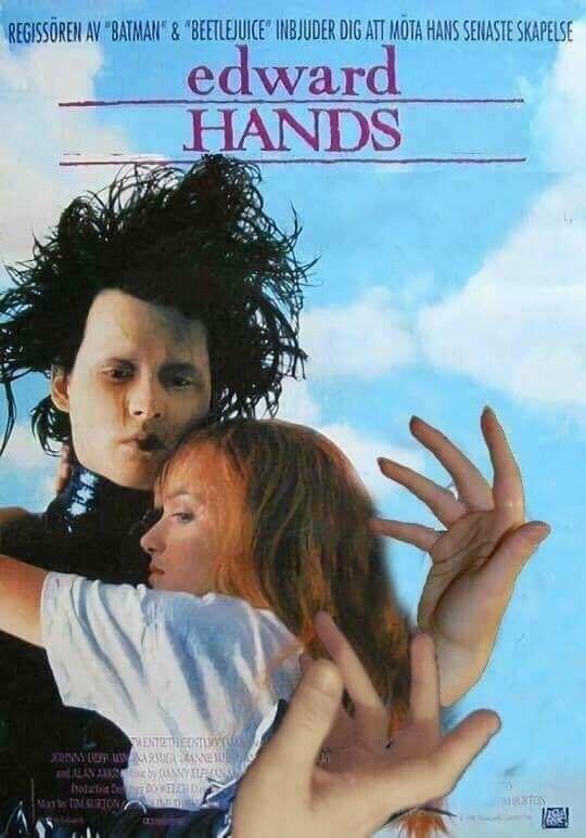 I'd love him no matter what hands he has...