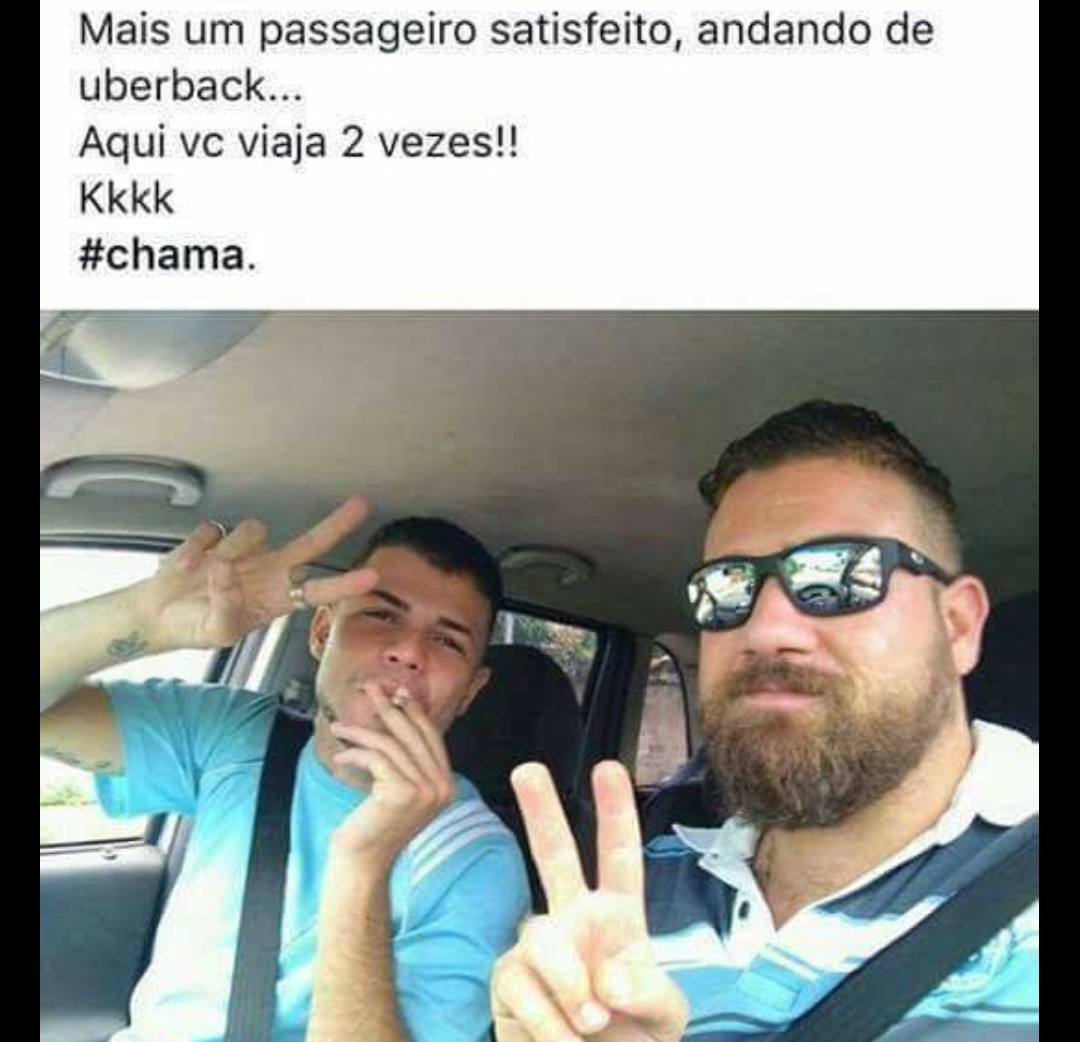 Uber back - meme