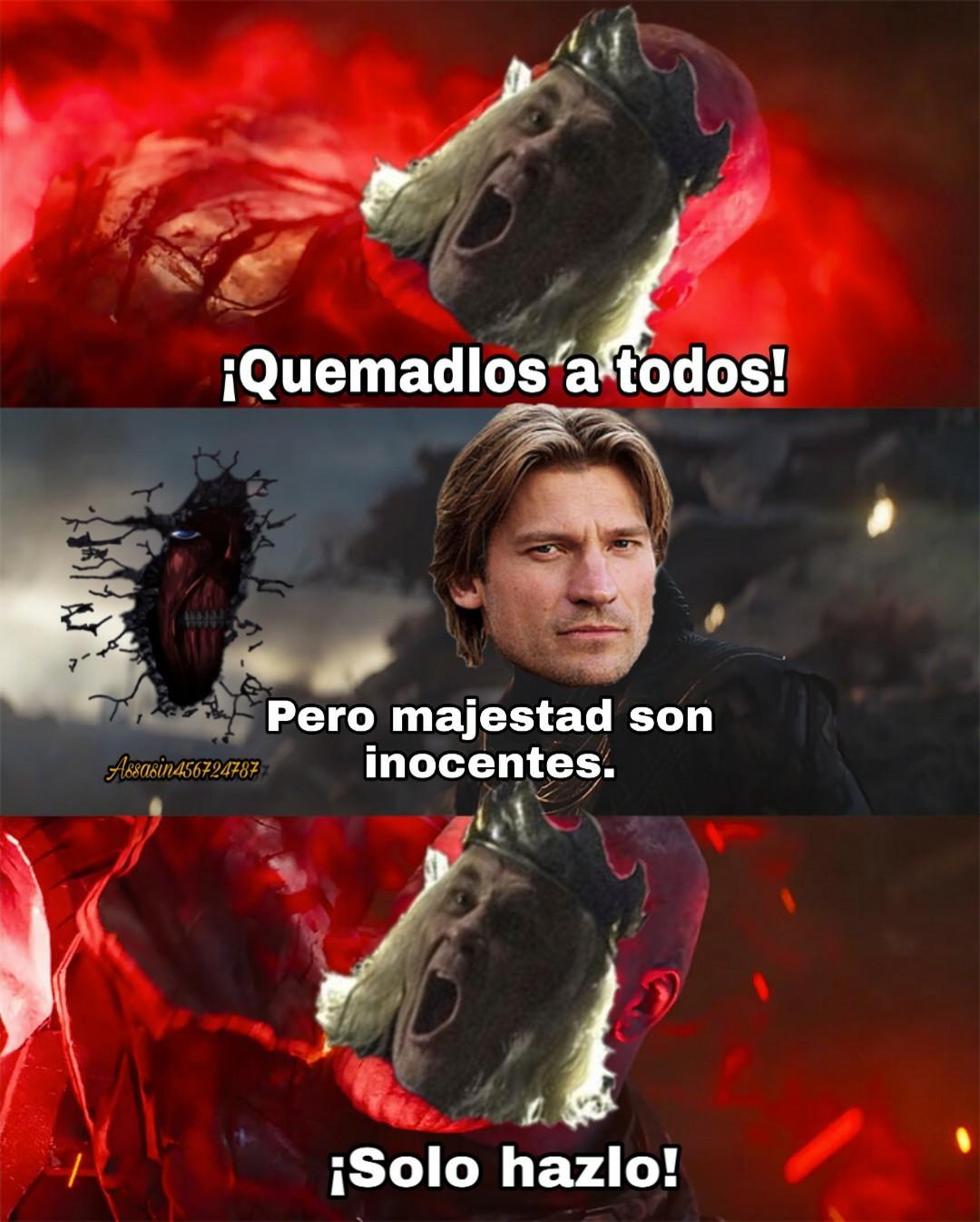 -El rey loquillo... - meme