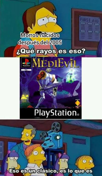 Medievil - meme