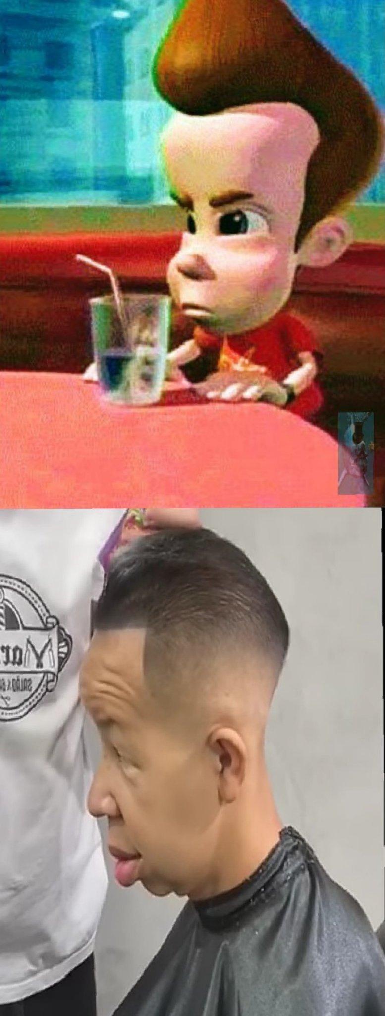 Jimmy neutron tá diferente - meme