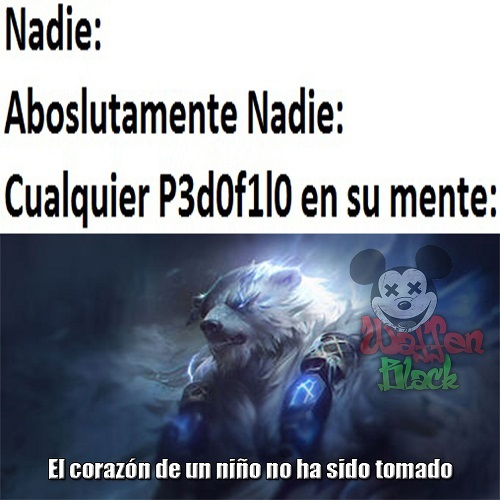 League of legends - meme