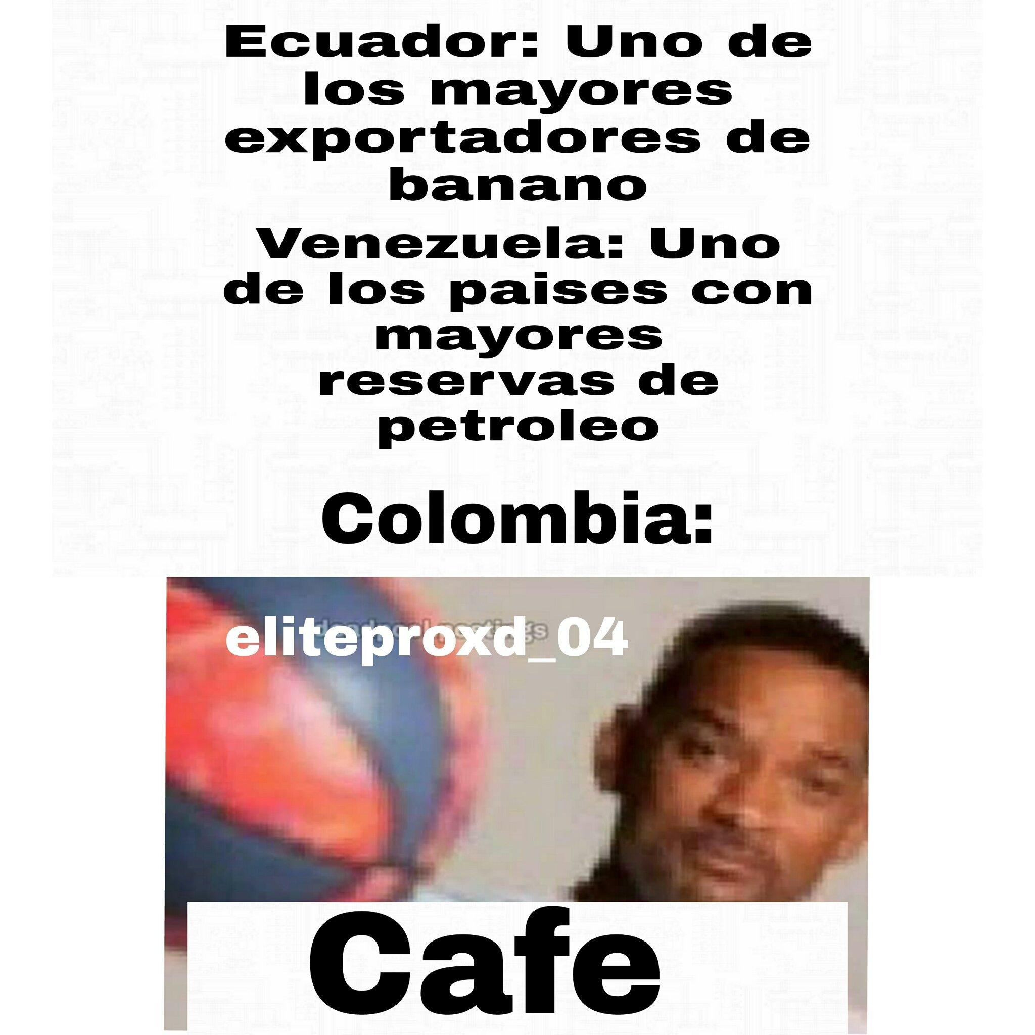 El cafe es vida - meme