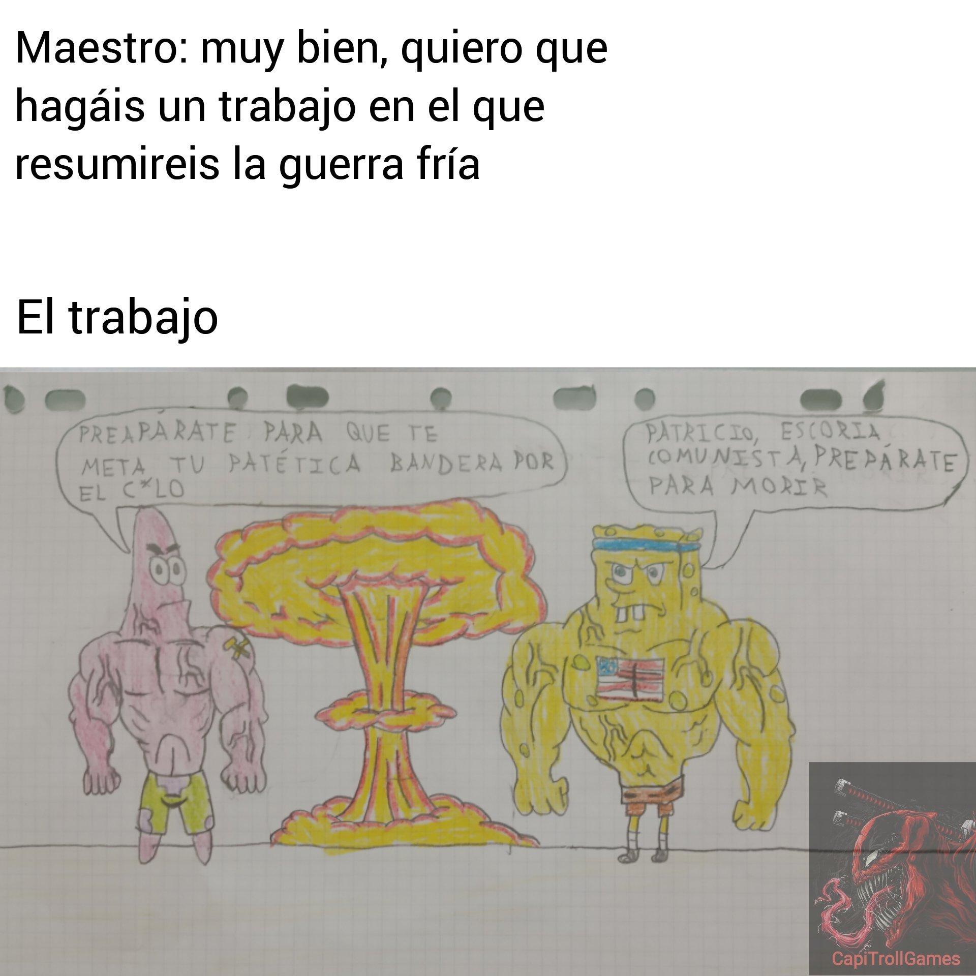 El dibujo es mío - meme