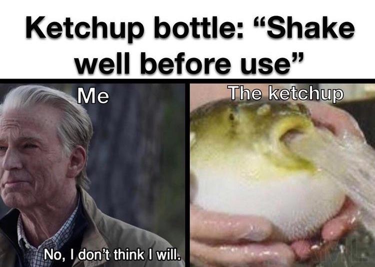 ketchup precum - meme