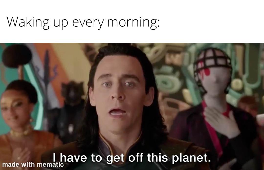 Toxic Planet - meme