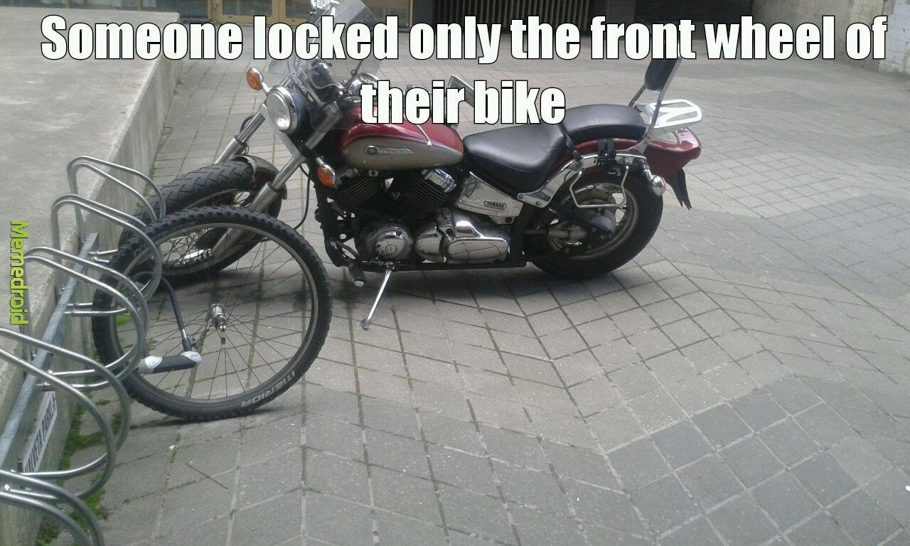 Watch where you park - meme