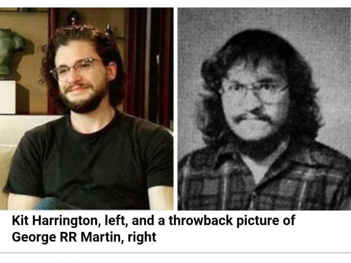 Jon snow = kit harrington confirmed - meme