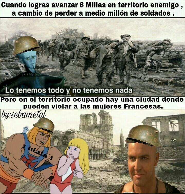 Crímenes de Guerra... - meme