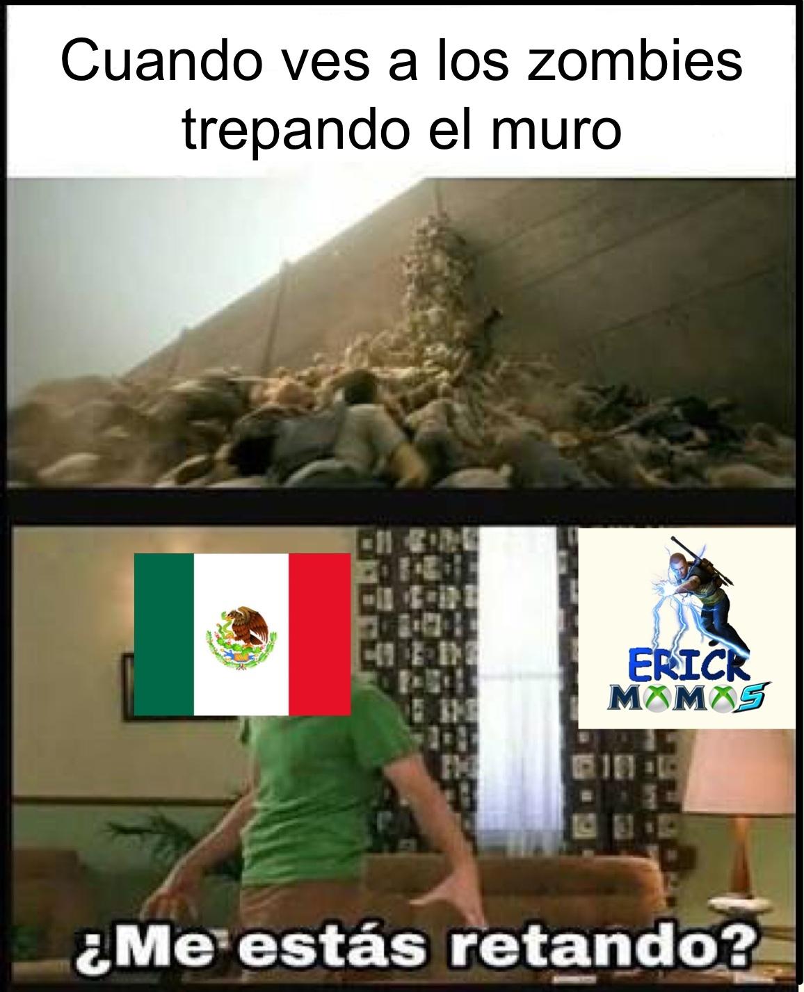 Mexico vs zombies - meme