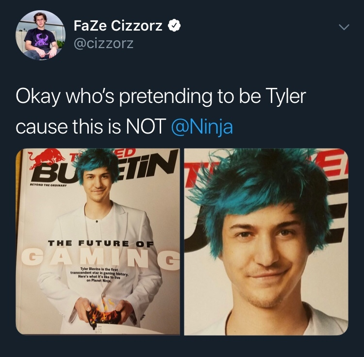 the irony is most ninja fans can't read - meme