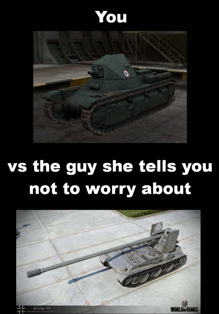 You vs the guy - meme