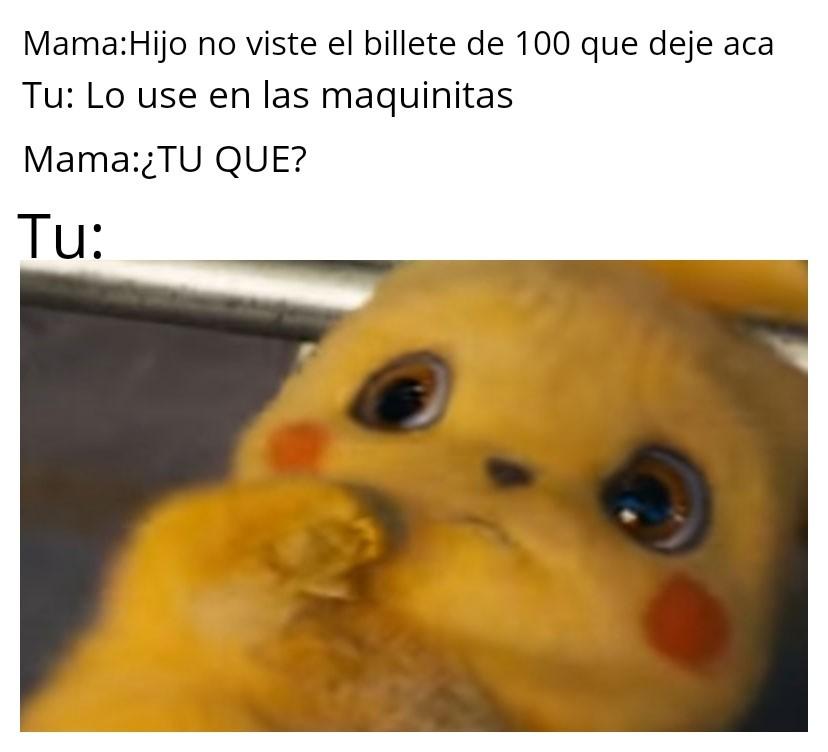 Perdon mami - meme