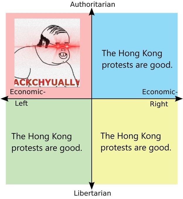Hong Kong deserves its freedom - meme